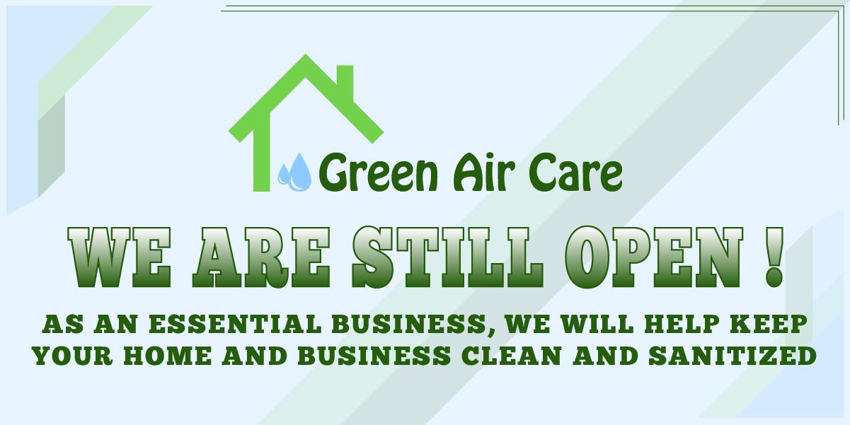 Green Air Care is still open