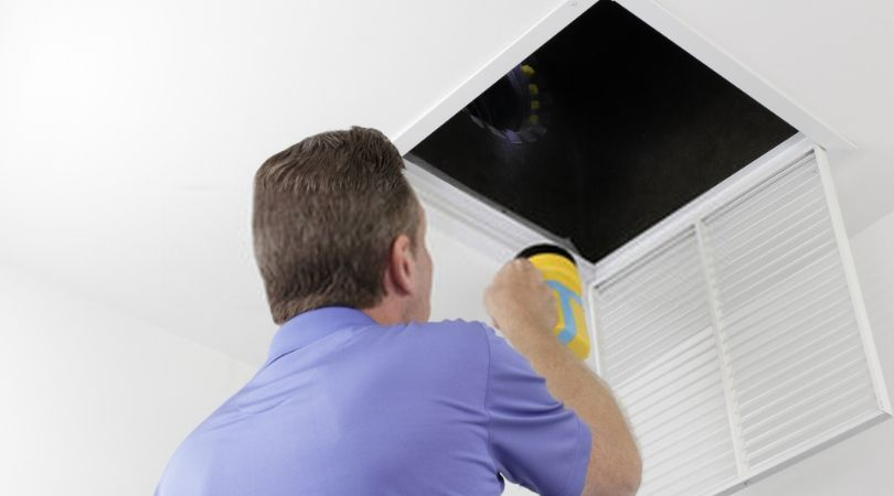 Air Duct Inspection By the specialist