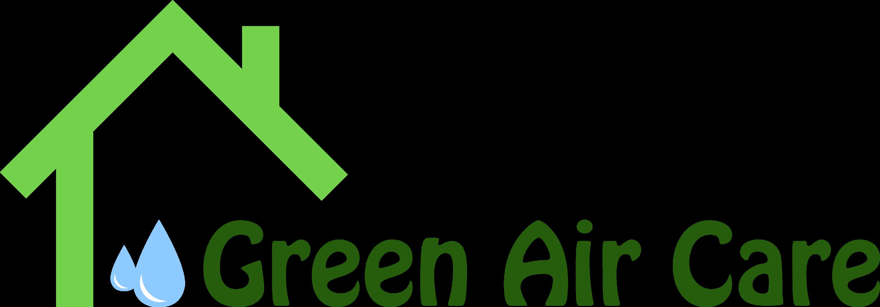 Green air care logo