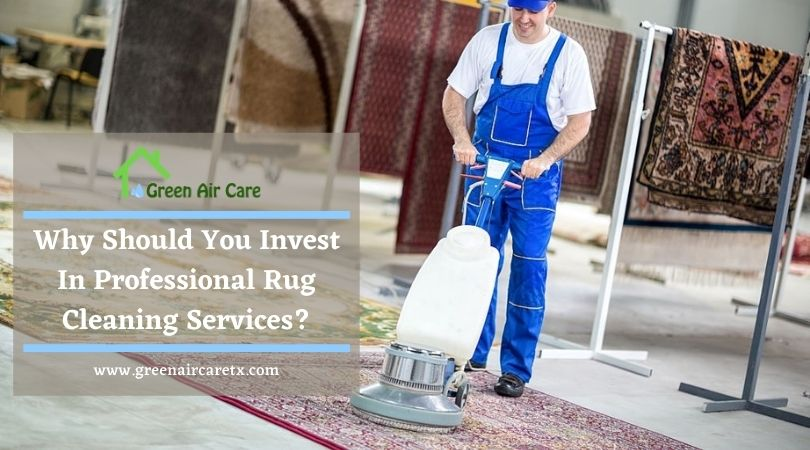 Why Should You Invest In Professional Rug Cleaning Services?