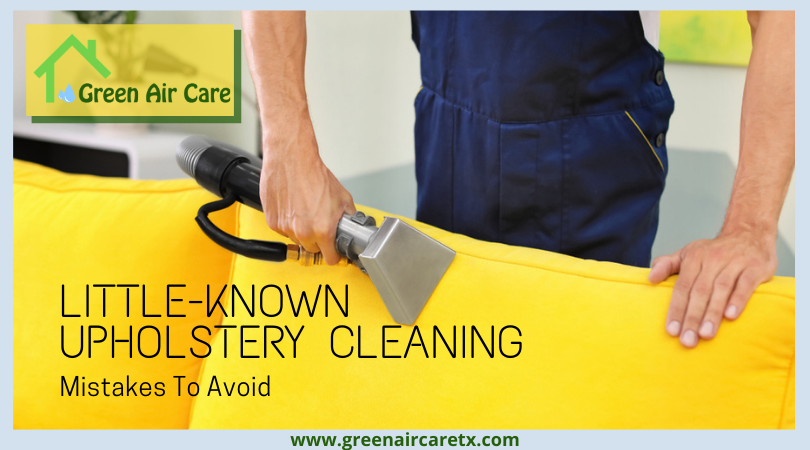Little-Known Upholstery Cleaning Mistakes To Avoid