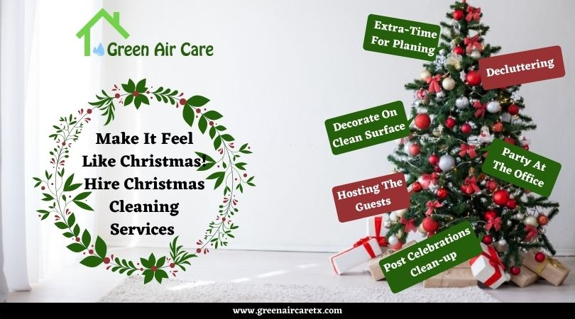 Christmas Cleaning Services San Antonio