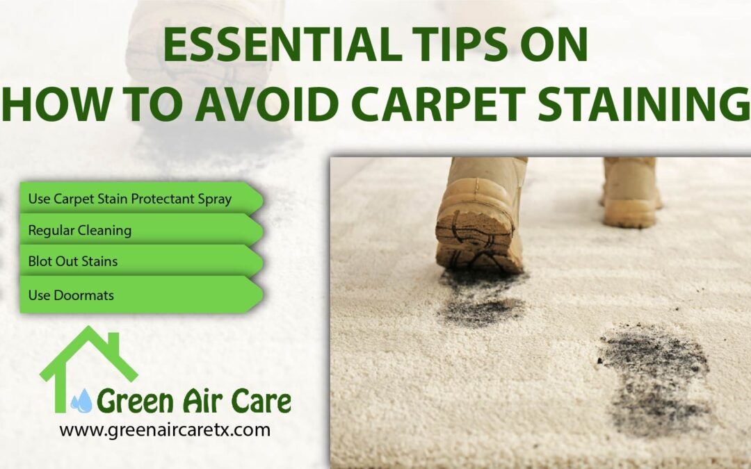 How To Avoid Carpet Staining