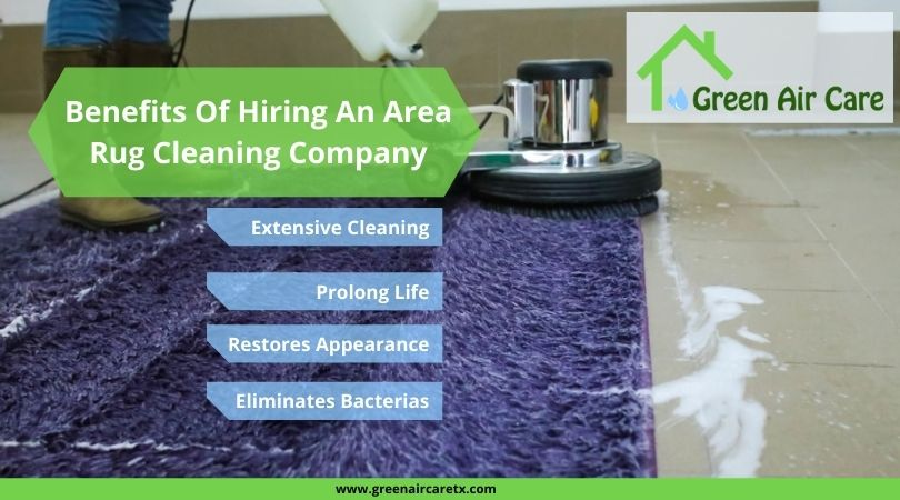 Benefits Of Hiring An Area Rug Cleaning Company